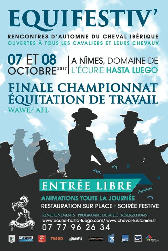 Equifestiv manifestation chevaux lusitaniens